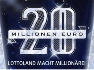 20 Millionen Euro Rubbellos