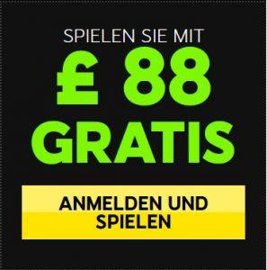 88 Euro Gratis Bonus
