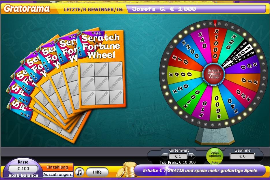 Gratorama Casino Spiel