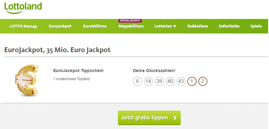 Land Lotto Gratis