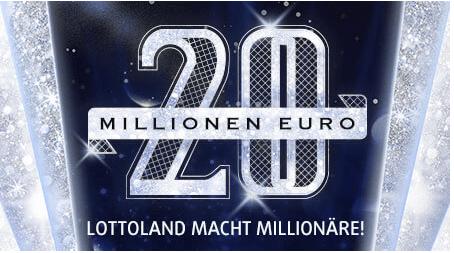 20 Millionen Euro Rubbellose